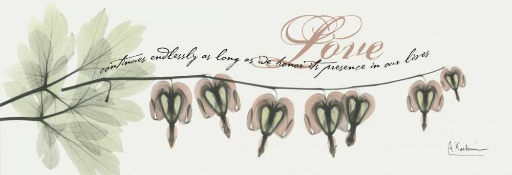 konfigurieren des Kunstdrucks in Wunschgröße Bleeding Heart Love von Koetsier, Albert