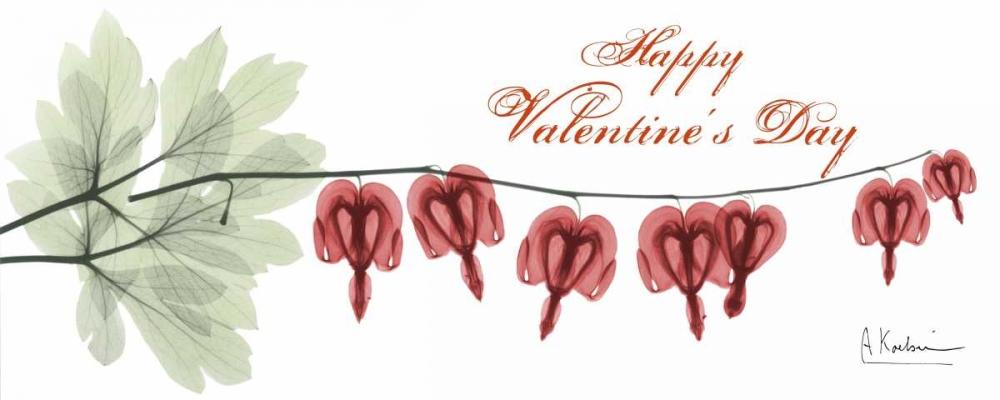konfigurieren des Kunstdrucks in Wunschgröße Bleeding Heart Valentine von Koetsier, Albert