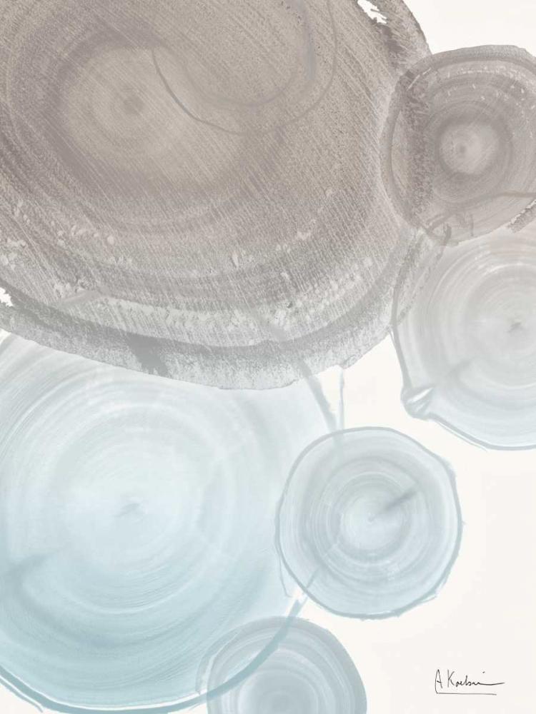 konfigurieren des Kunstdrucks in Wunschgröße Sea Mist Tree Rings von Koetsier, Albert
