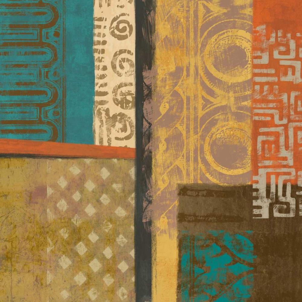konfigurieren des Kunstdrucks in Wunschgröße African Tribe 1 von Saunders, Alonzo
