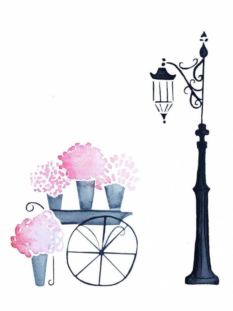 konfigurieren des Kunstdrucks in Wunschgröße Flower Shopping von Zyburt, Alicia