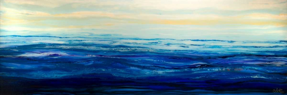 konfigurieren des Kunstdrucks in Wunschgröße Blue Waters von Bilotta, Barbara