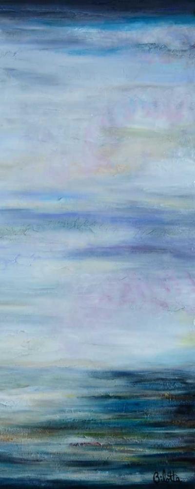 konfigurieren des Kunstdrucks in Wunschgröße Narrow Waterscape 2 von Bilotta, Barbara