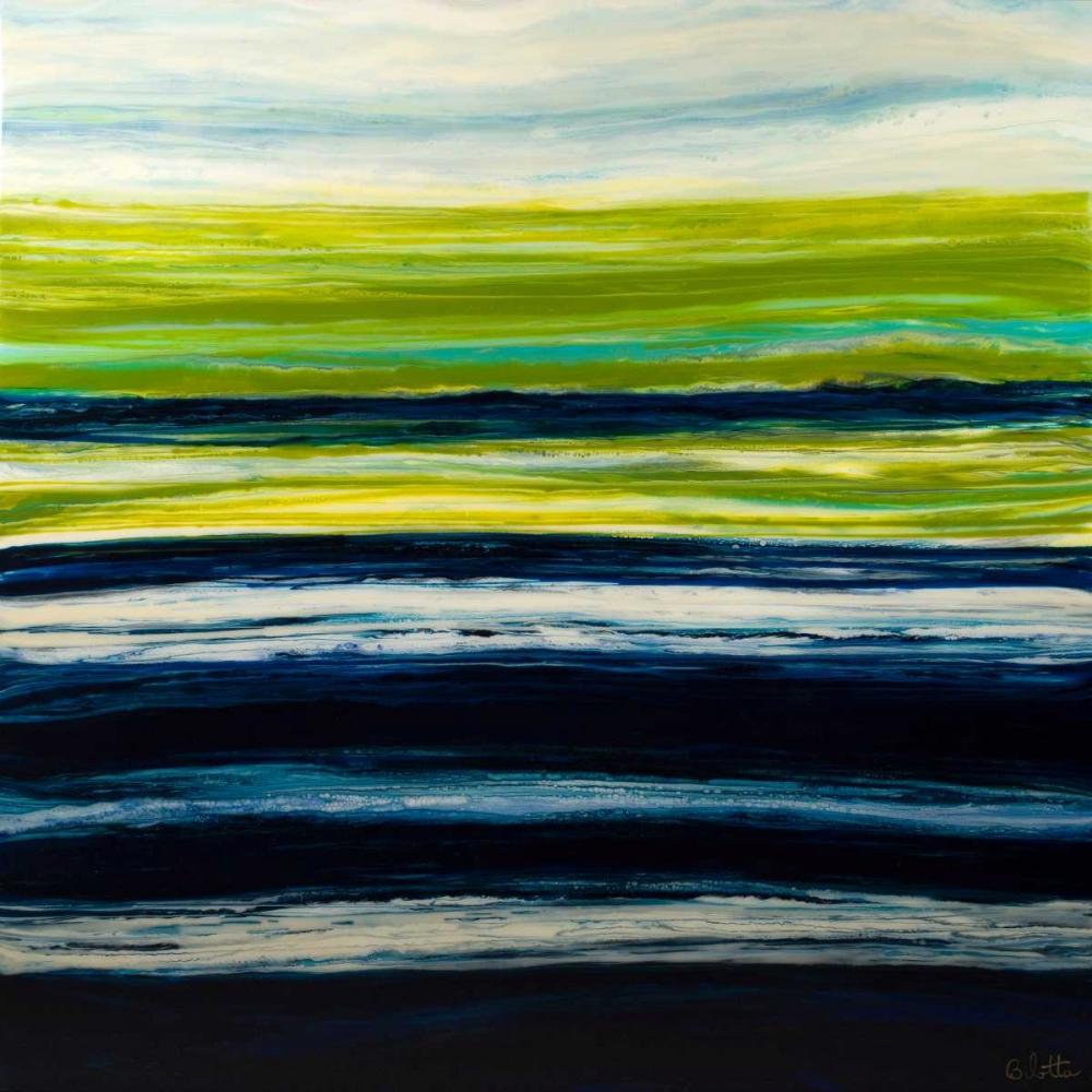 konfigurieren des Kunstdrucks in Wunschgröße Emerald Horizon von Bilotta, Barbara