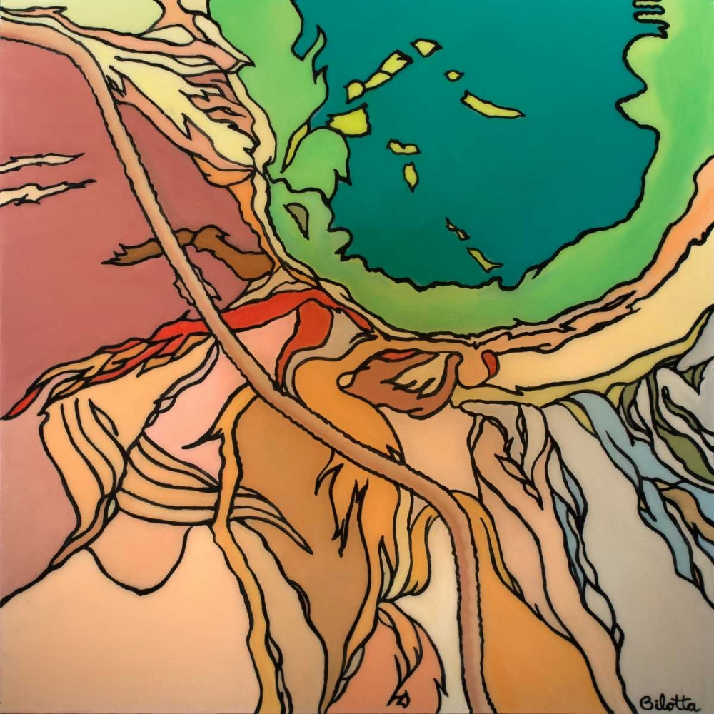 konfigurieren des Kunstdrucks in Wunschgröße Yellowstone von Bilotta, Barbara