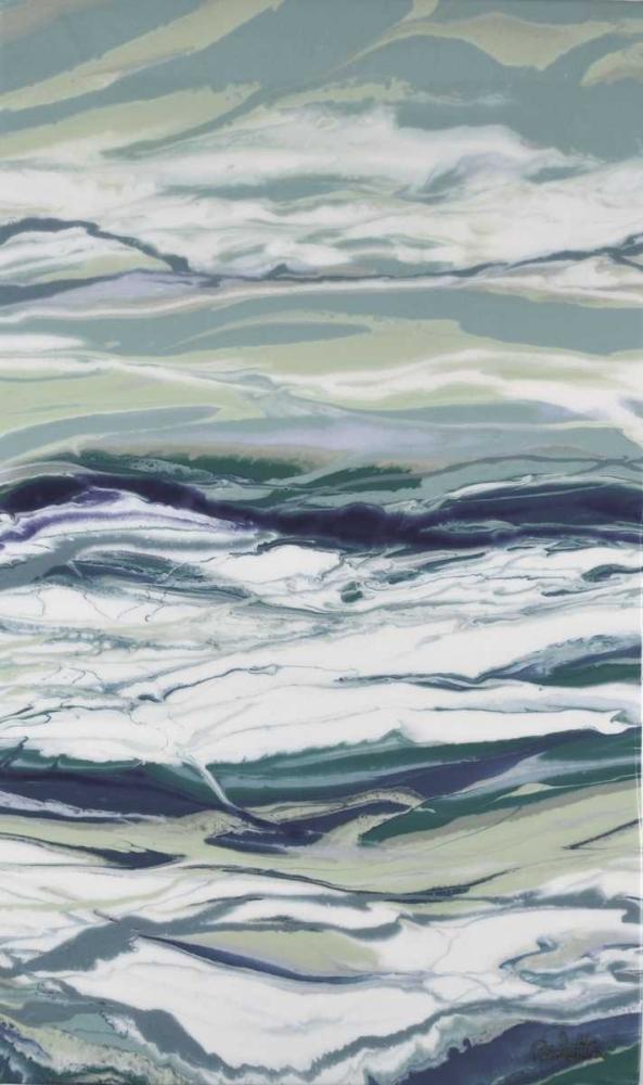 konfigurieren des Kunstdrucks in Wunschgröße Ocean Blues von Bilotta, Barbara