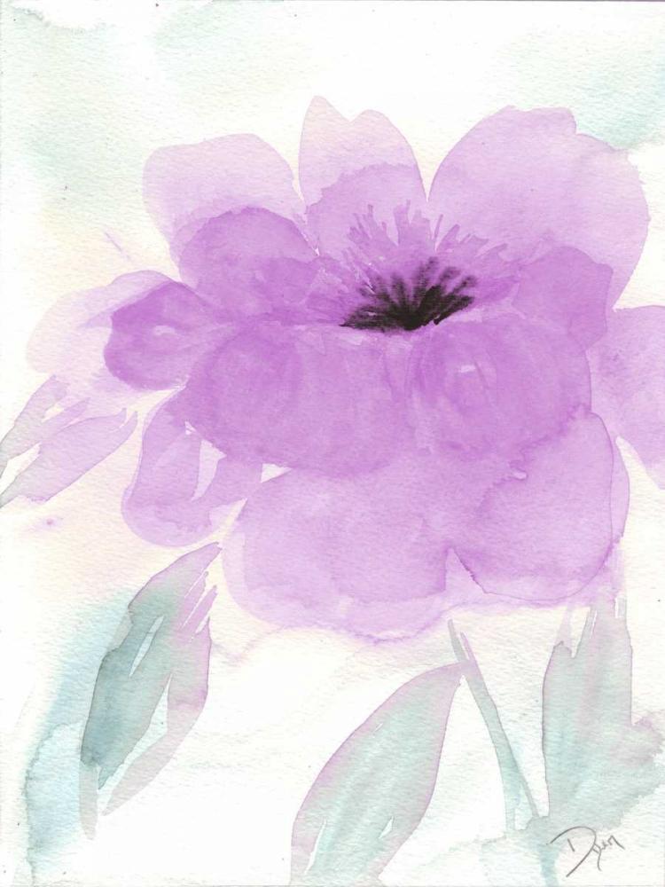 konfigurieren des Kunstdrucks in Wunschgröße Lilac Peony I von Dyer, Beverly