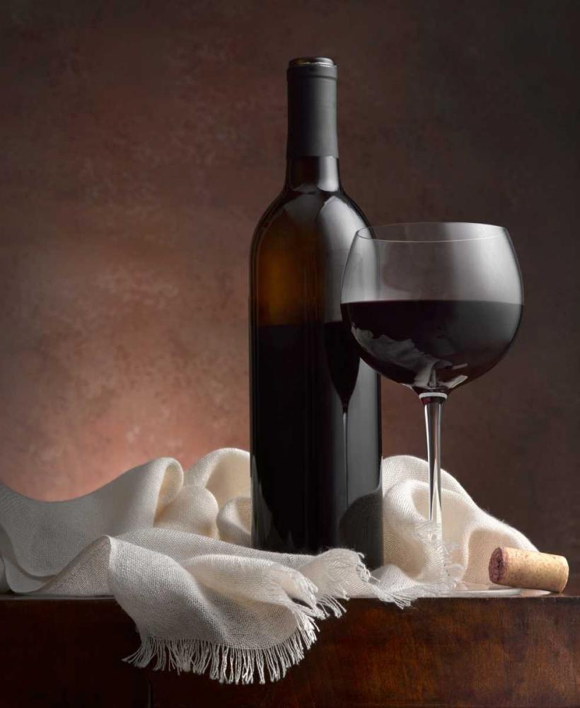 konfigurieren des Kunstdrucks in Wunschgröße Red Wine And Cork von Seidman, Barry
