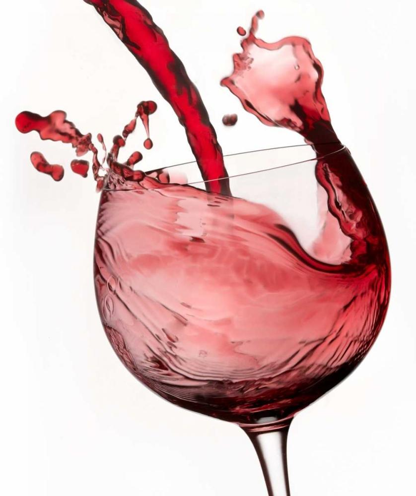 konfigurieren des Kunstdrucks in Wunschgröße Red Wine Pour 2 von Seidman, Barry