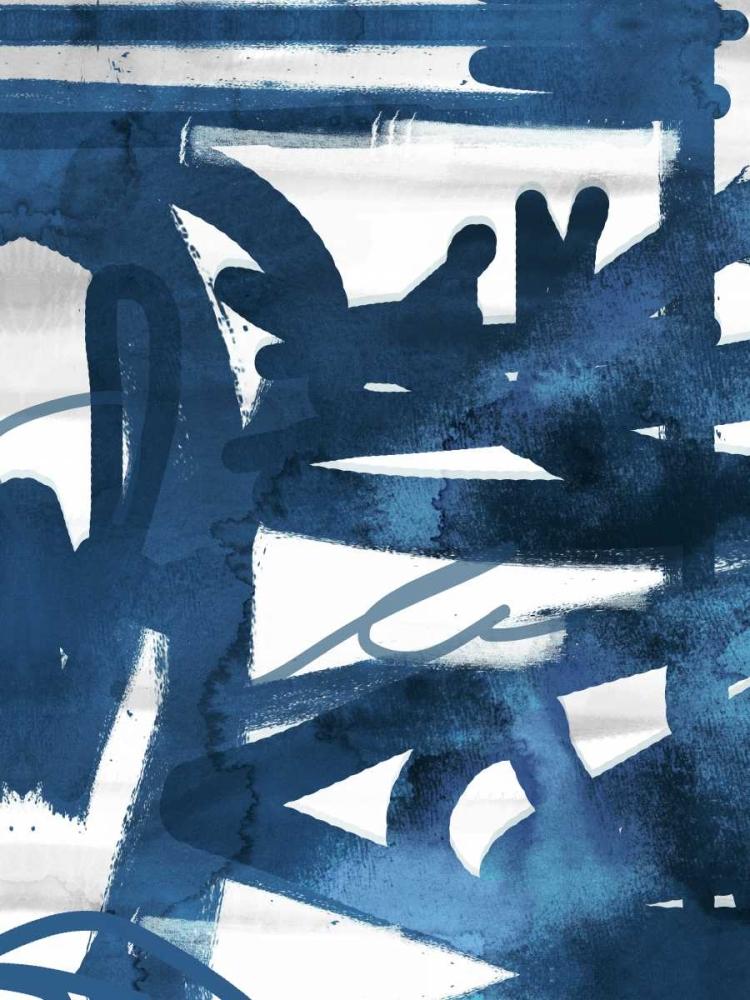 konfigurieren des Kunstdrucks in Wunschgröße Indigo Graff 1 von Alvarez, Cynthia