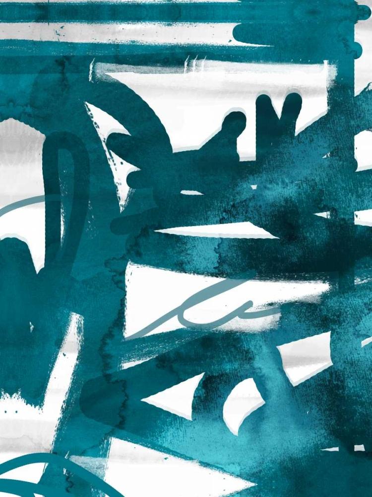 konfigurieren des Kunstdrucks in Wunschgröße Blue Cynthia 1 von Alvarez, Cynthia