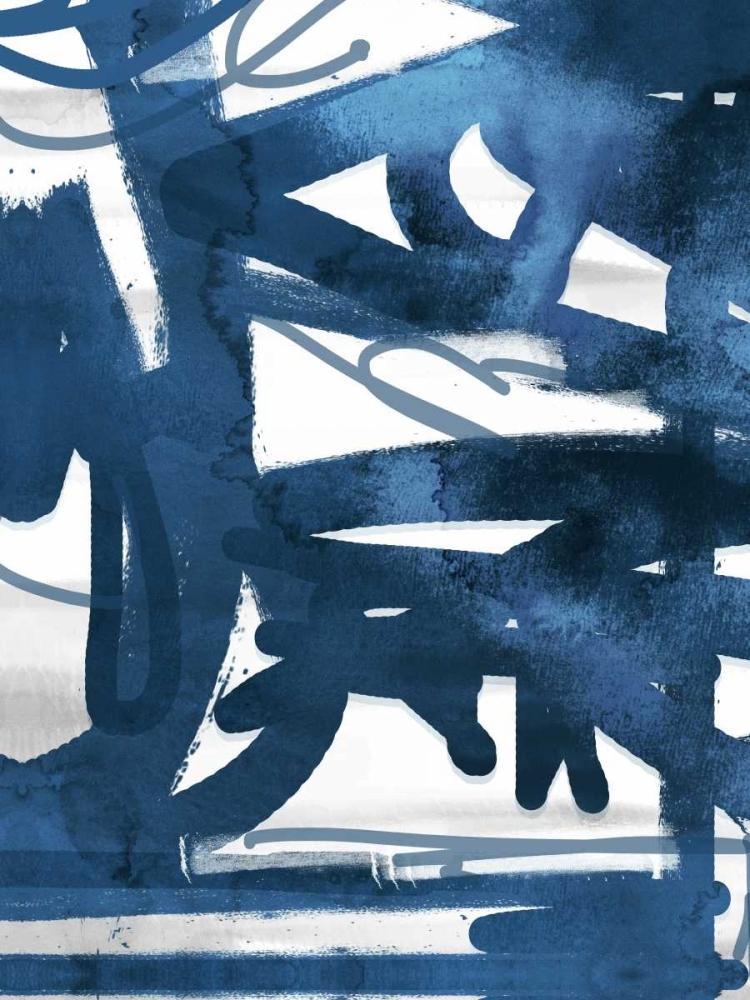 konfigurieren des Kunstdrucks in Wunschgröße Indigo Graff 2 von Alvarez, Cynthia