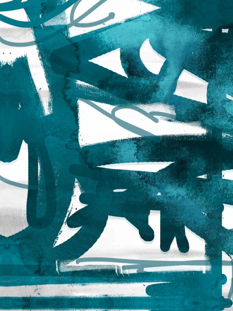 konfigurieren des Kunstdrucks in Wunschgröße Blue Cynthia 2 von Alvarez, Cynthia