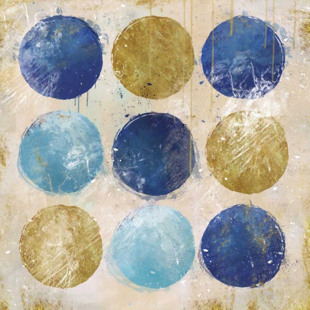 konfigurieren des Kunstdrucks in Wunschgröße Circles A von Alvarez, Cynthia