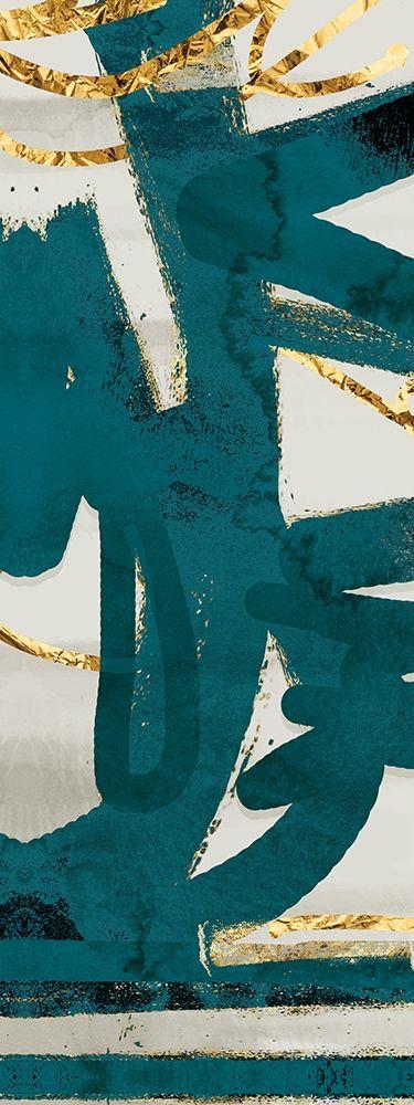 konfigurieren des Kunstdrucks in Wunschgröße Teal and Flare C von Alvarez, Cynthia