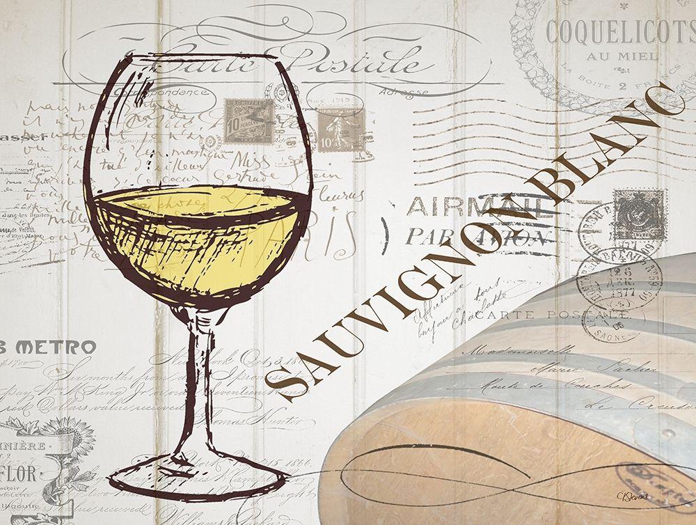 konfigurieren des Kunstdrucks in Wunschgröße Vintage Wine 1 von Stevens, Carole