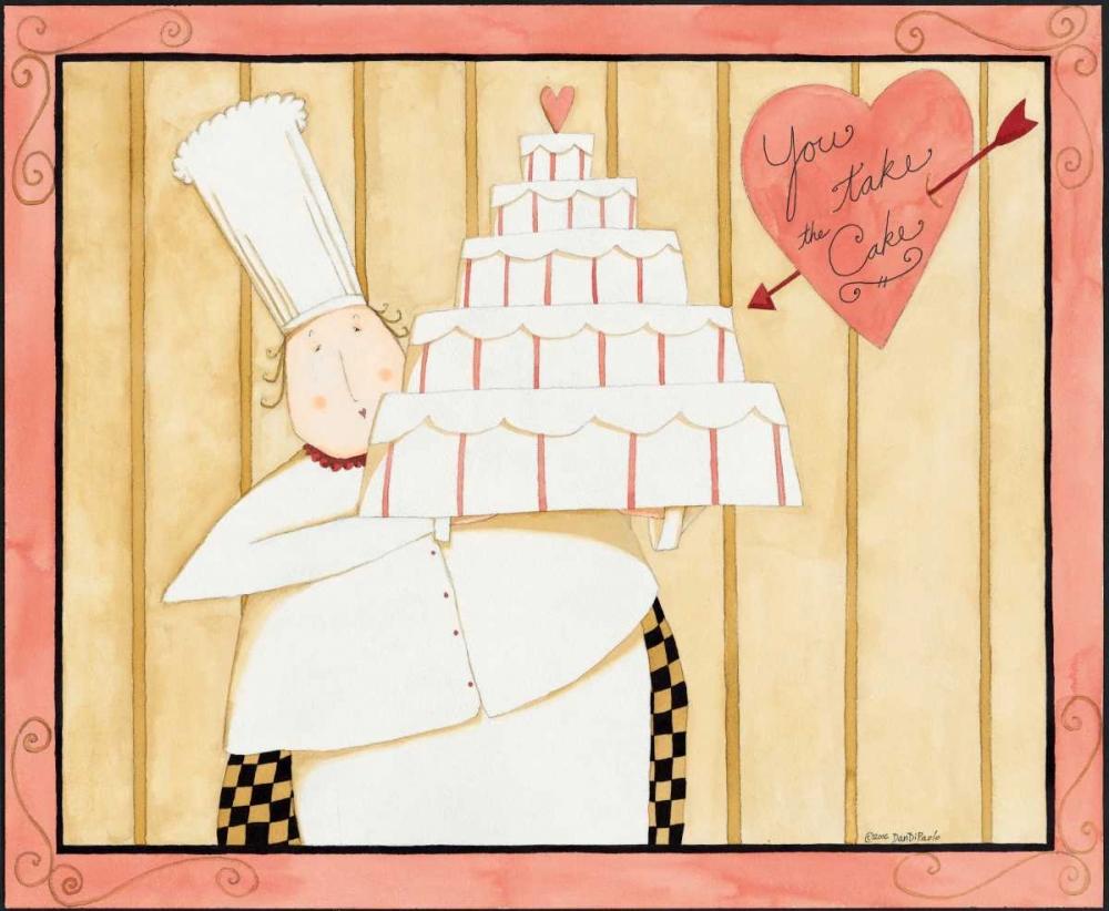 konfigurieren des Kunstdrucks in Wunschgröße Love Cake von DiPaolo, Dan