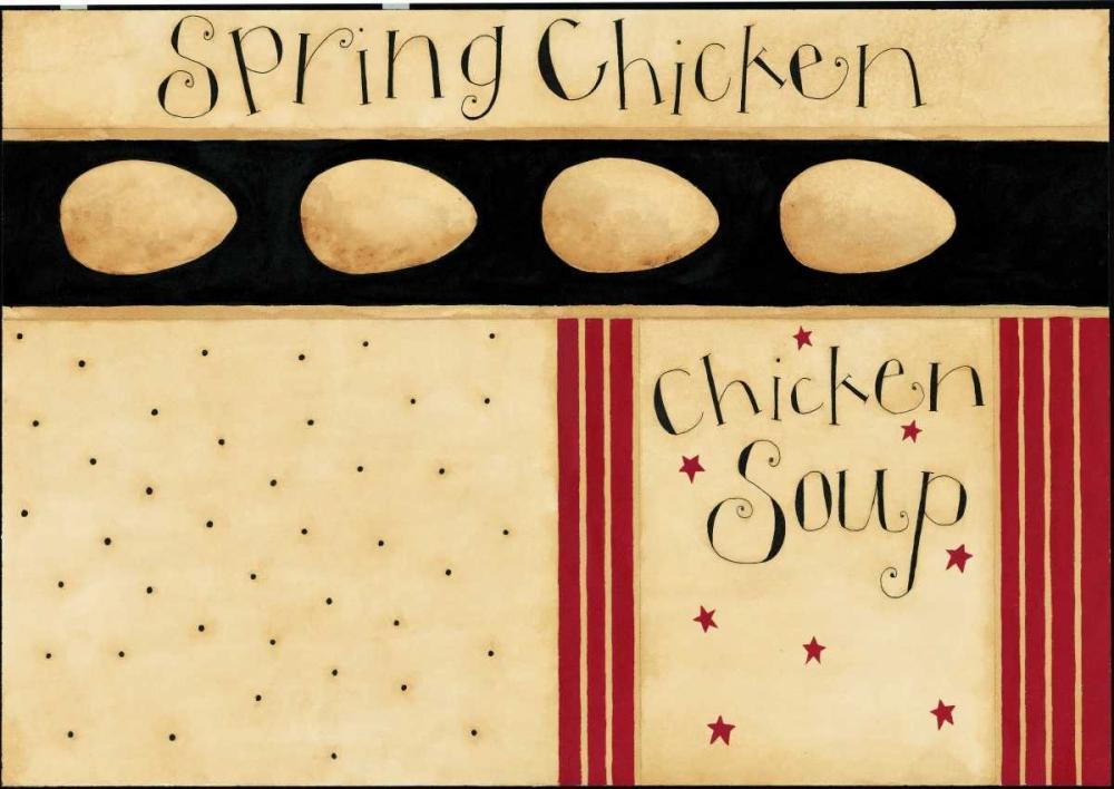 konfigurieren des Kunstdrucks in Wunschgröße Spring Chicken von DiPaolo, Dan