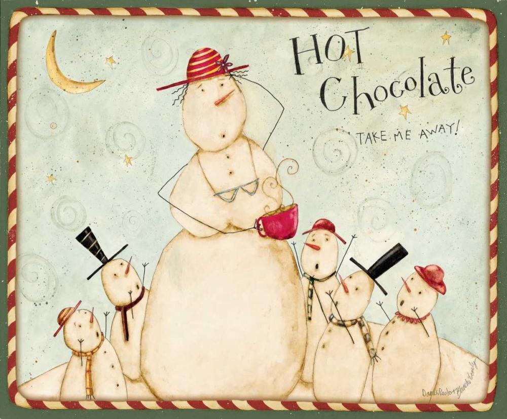konfigurieren des Kunstdrucks in Wunschgröße Hot Chocolate von DiPaolo, Dan