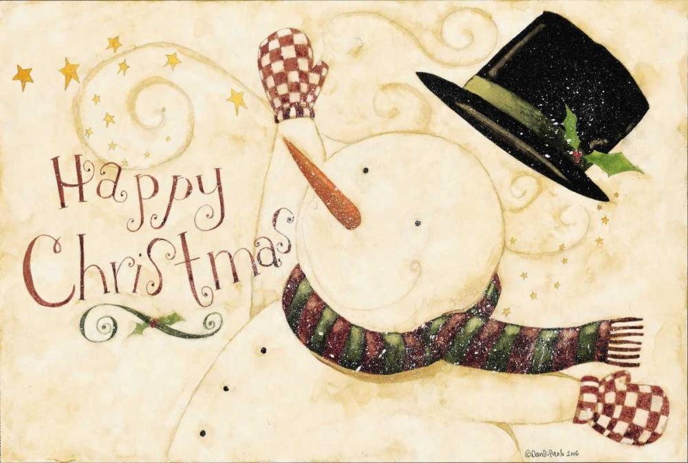 konfigurieren des Kunstdrucks in Wunschgröße Happy Christmas von DiPaolo, Dan