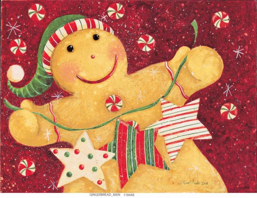 konfigurieren des Kunstdrucks in Wunschgröße Gingerbread And Candy von DiPaolo, Dan