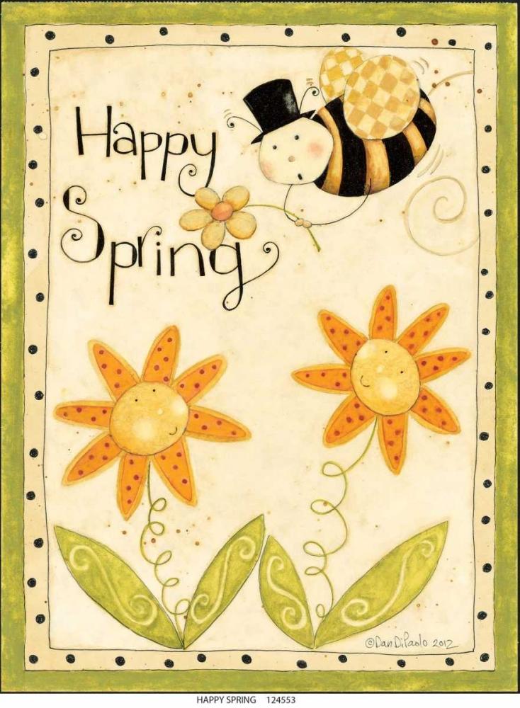 konfigurieren des Kunstdrucks in Wunschgröße Happy Spring von DiPaolo, Dan