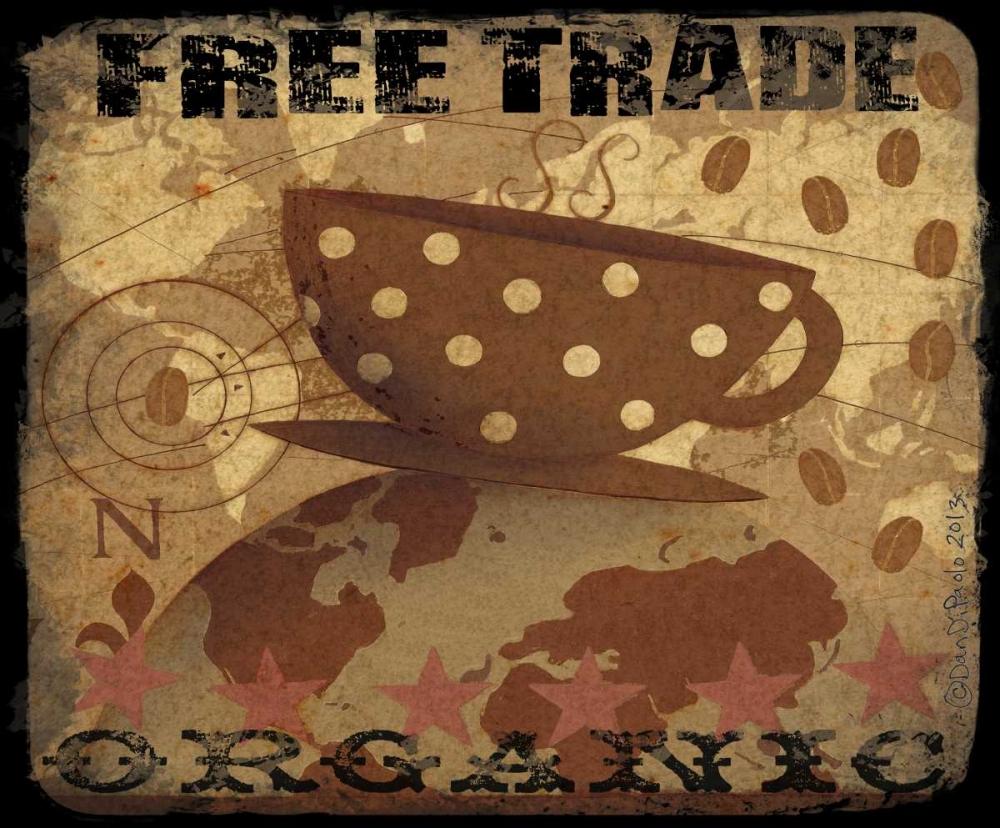 konfigurieren des Kunstdrucks in Wunschgröße Free Trade von DiPaolo, Dan
