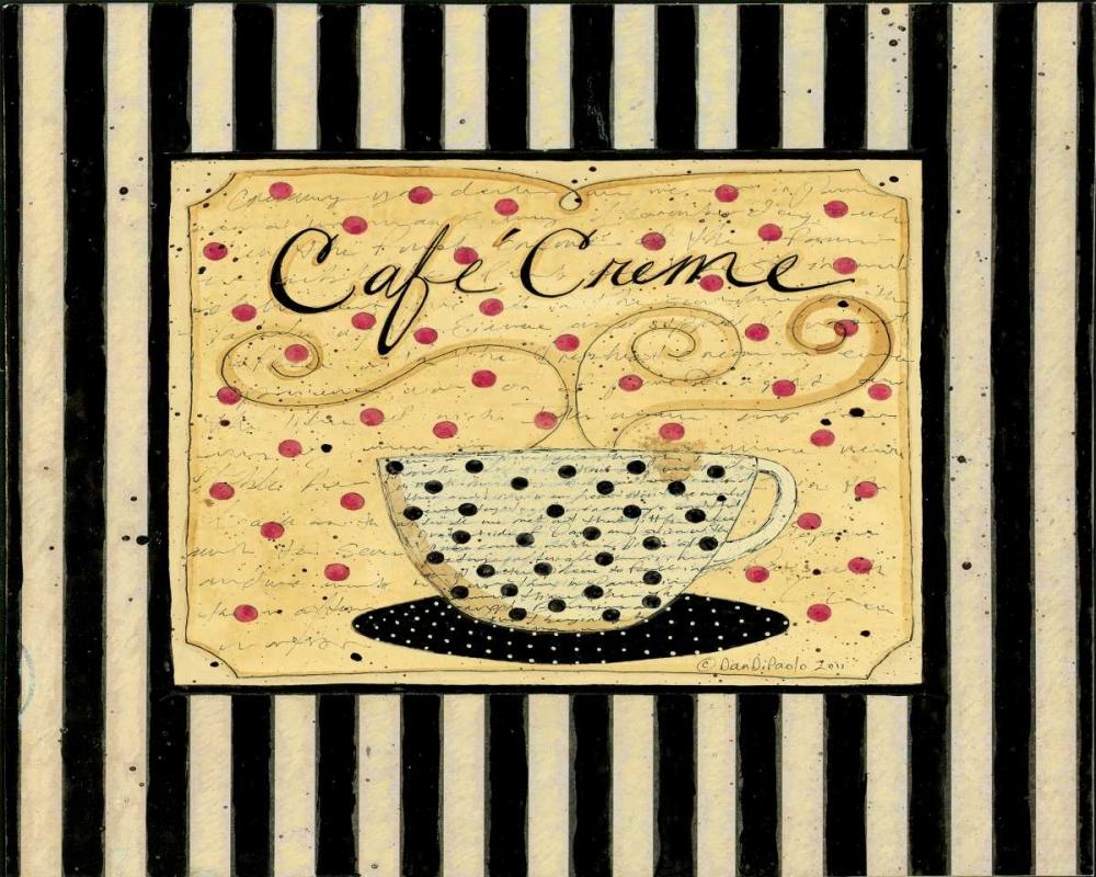 konfigurieren des Kunstdrucks in Wunschgröße Cream Stripes von DiPaolo, Dan