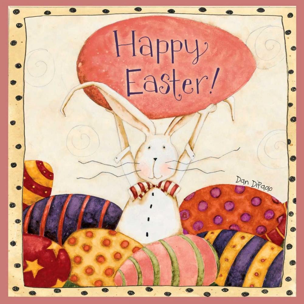 konfigurieren des Kunstdrucks in Wunschgröße Bunny Easter von DiPaolo, Dan