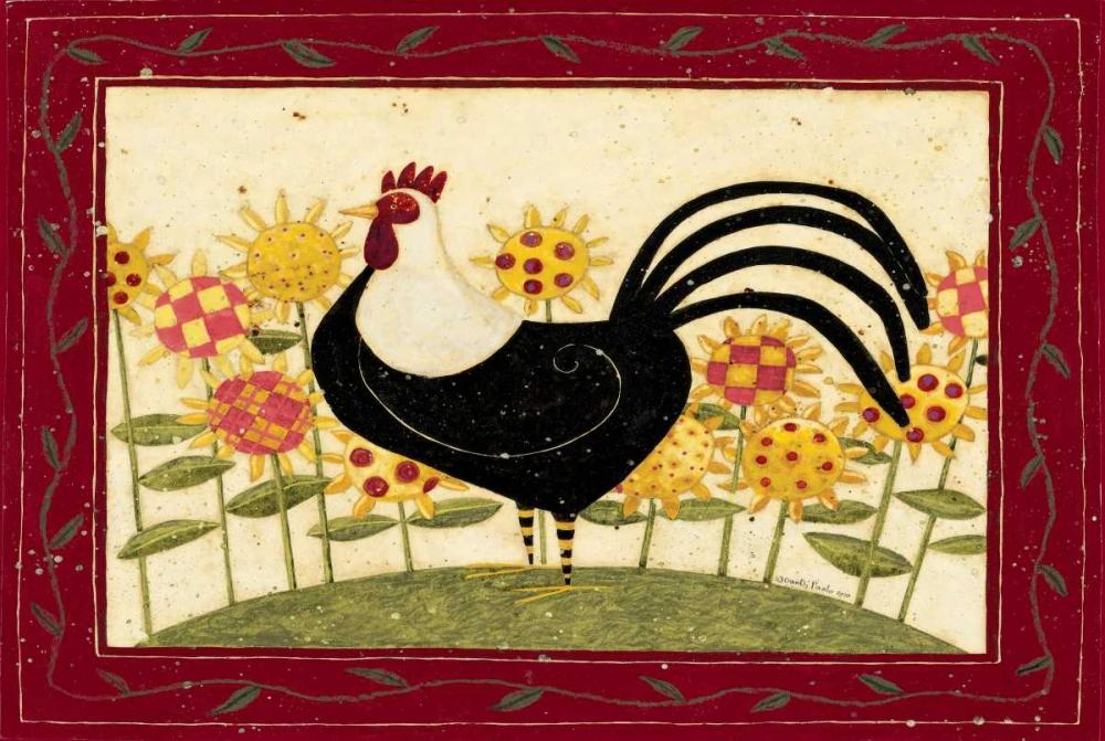 konfigurieren des Kunstdrucks in Wunschgröße Rooster von DiPaolo, Dan