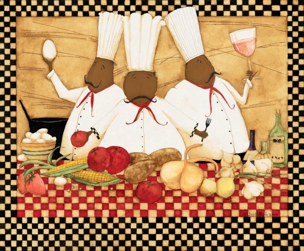 konfigurieren des Kunstdrucks in Wunschgröße Loves To Cook von DiPaolo, Dan