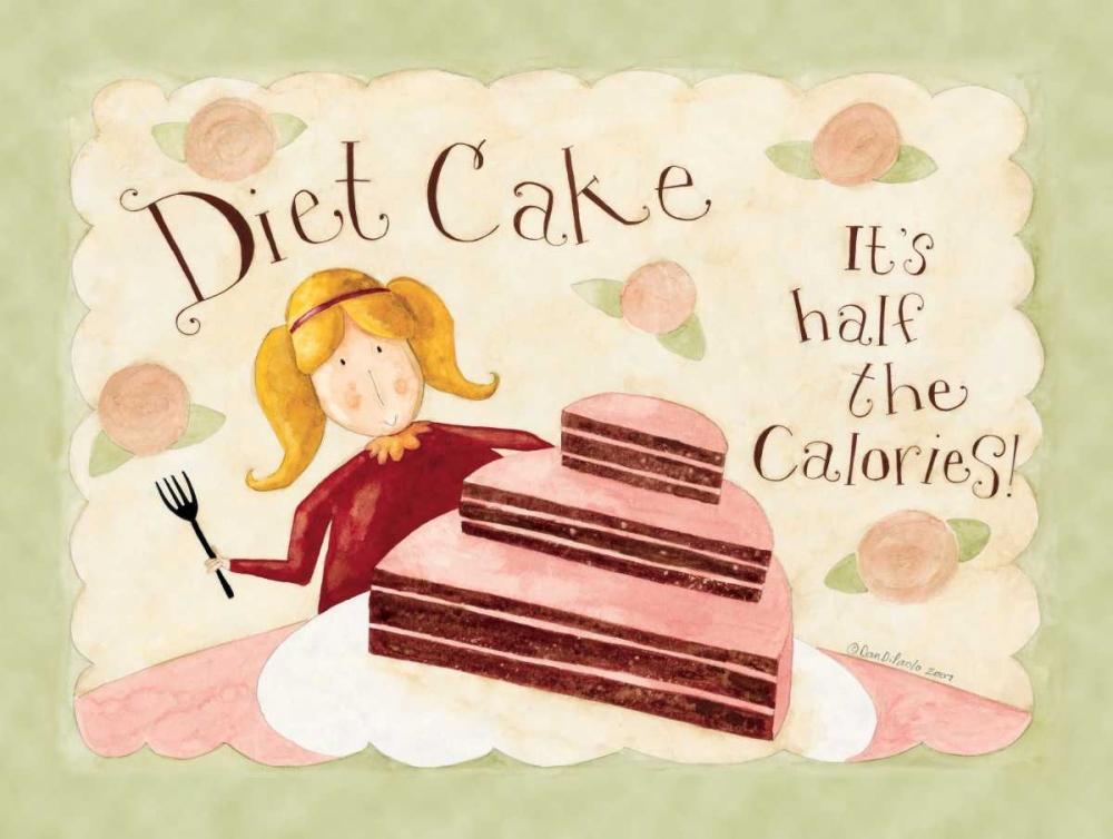 konfigurieren des Kunstdrucks in Wunschgröße Diet Cake von DiPaolo, Dan