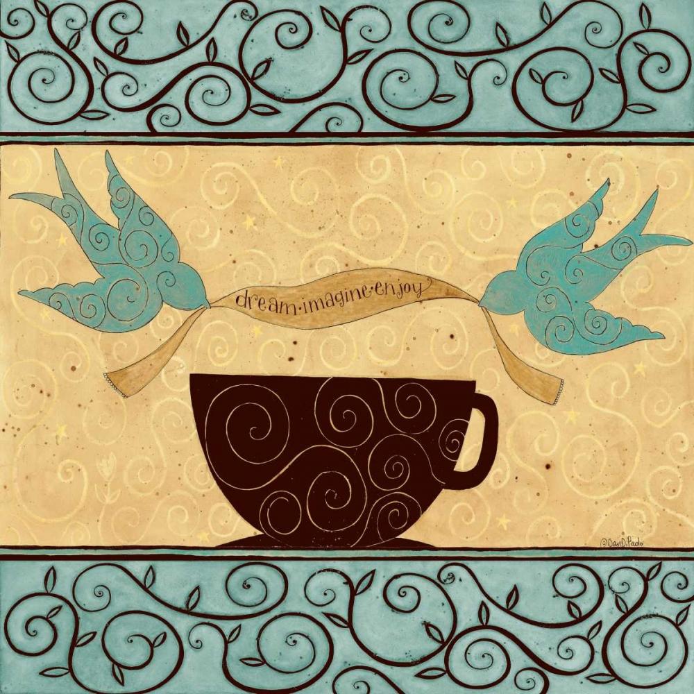 konfigurieren des Kunstdrucks in Wunschgröße Coffee Break von DiPaolo, Dan