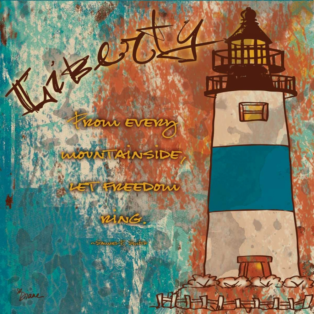 konfigurieren des Kunstdrucks in Wunschgröße Lighthouse 2 von Stimson, Diane
