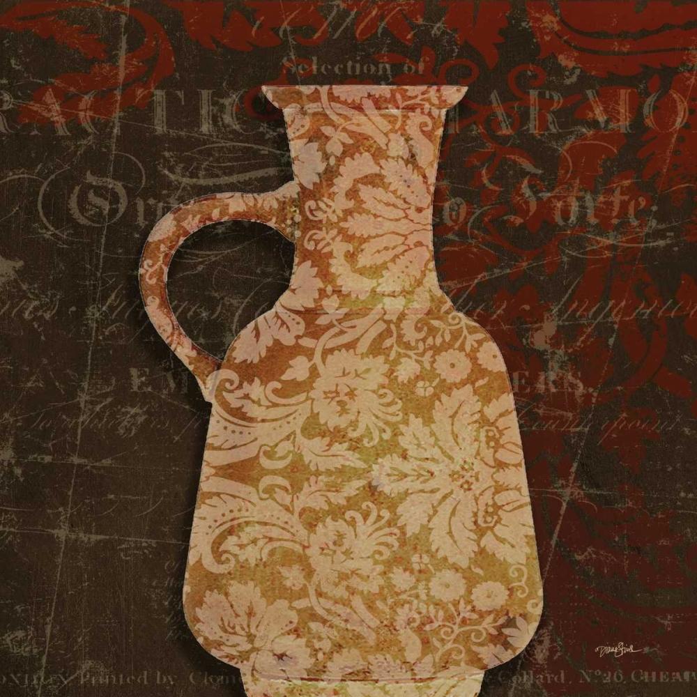 konfigurieren des Kunstdrucks in Wunschgröße Urn Damask 1 von Stimson, Diane
