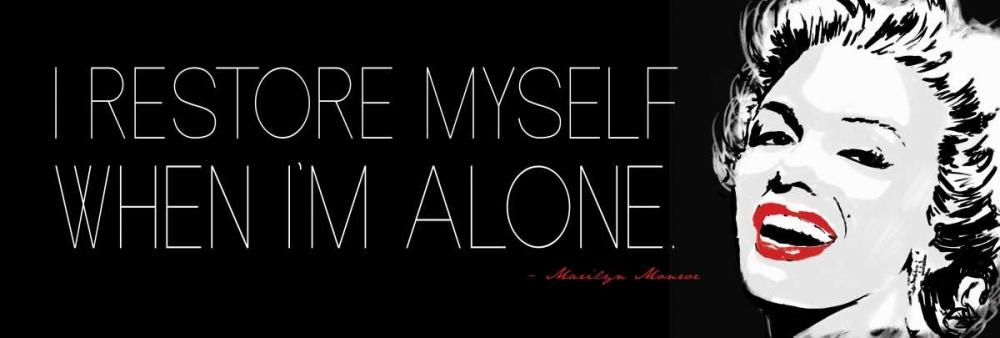 konfigurieren des Kunstdrucks in Wunschgröße When Im Alone von Rodriquez Jr, Enrique