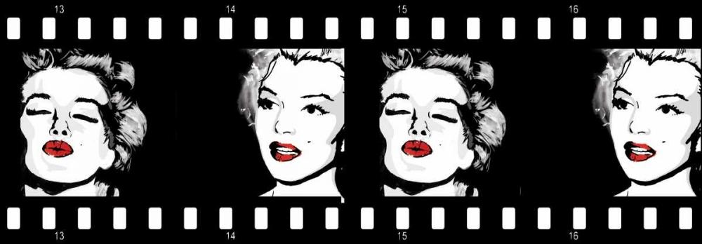 konfigurieren des Kunstdrucks in Wunschgröße Monroe Strip 3 von Rodriquez Jr, Enrique