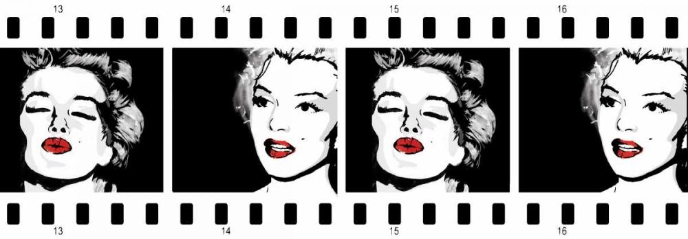 konfigurieren des Kunstdrucks in Wunschgröße Monroe Strip 1 von Rodriquez Jr, Enrique