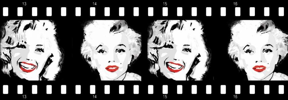 konfigurieren des Kunstdrucks in Wunschgröße Monroe Strip 4 von Rodriquez Jr, Enrique