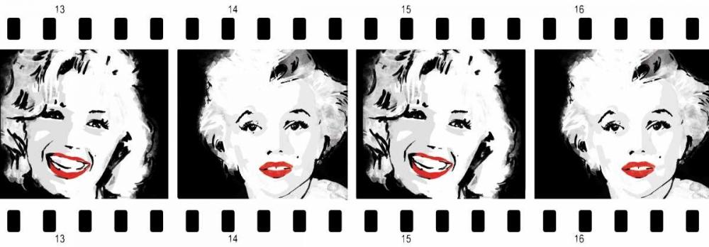 konfigurieren des Kunstdrucks in Wunschgröße Monroe Strip 2 von Rodriquez Jr, Enrique