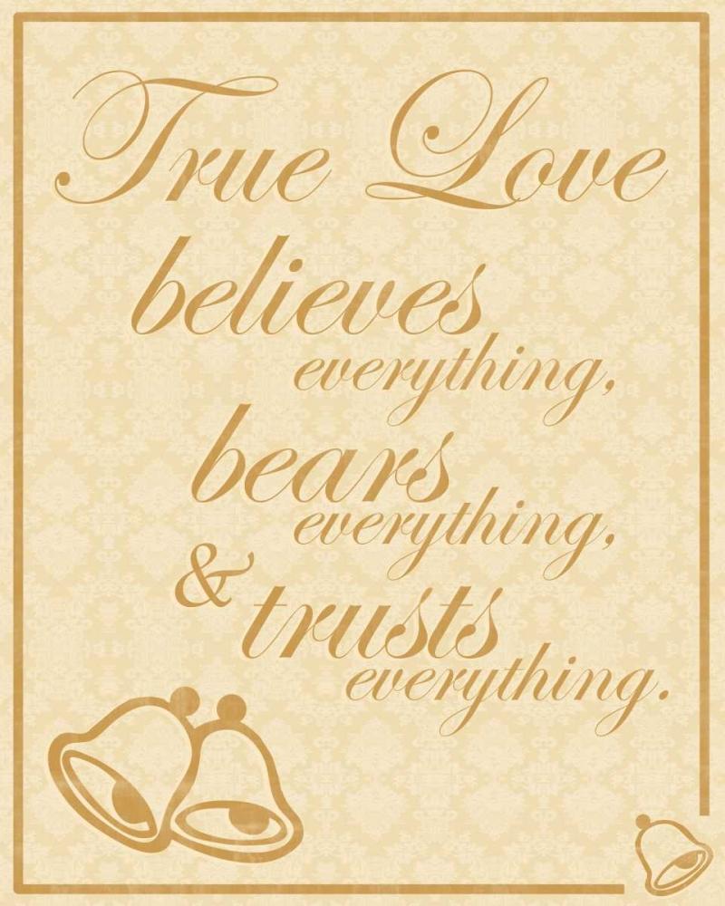konfigurieren des Kunstdrucks in Wunschgröße True Love B von Gibbons, Lauren