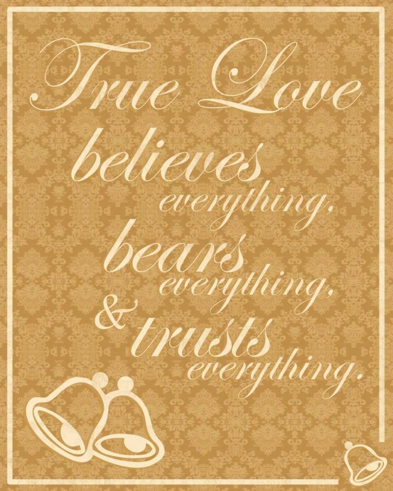 konfigurieren des Kunstdrucks in Wunschgröße True Love A von Gibbons, Lauren