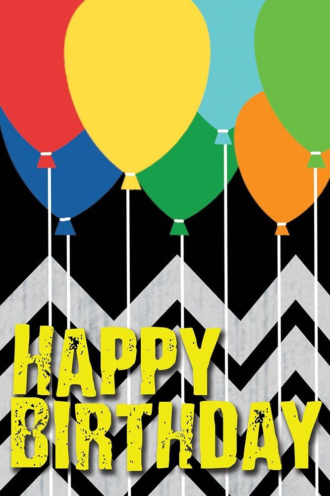 konfigurieren des Kunstdrucks in Wunschgröße Birthday von Gibbons, Lauren