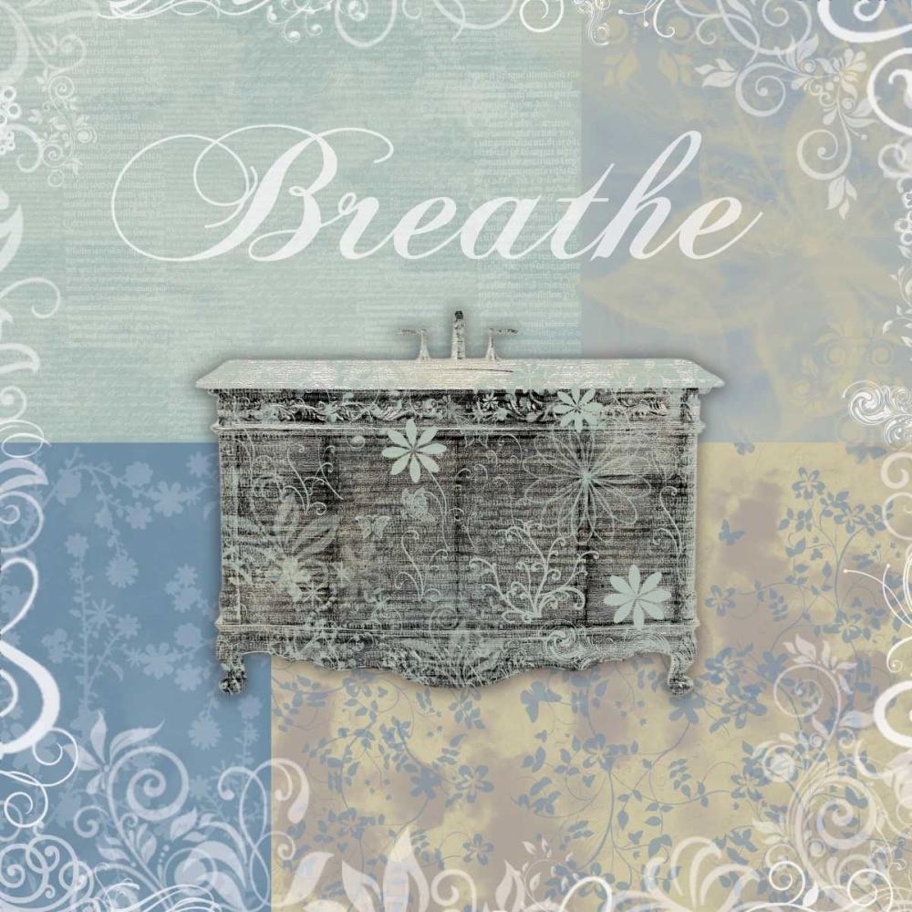 konfigurieren des Kunstdrucks in Wunschgröße Breathe Bath Tub von Gibbons, Lauren
