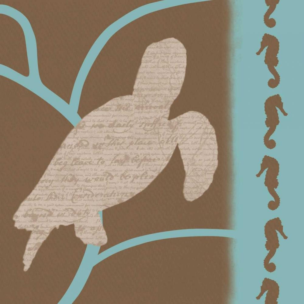 konfigurieren des Kunstdrucks in Wunschgröße Turtle Pattern von Gibbons, Lauren
