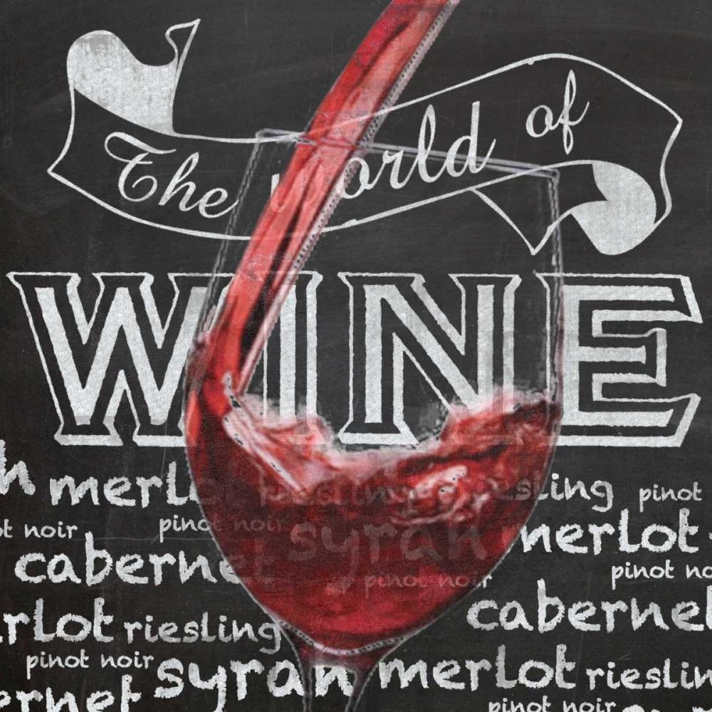 konfigurieren des Kunstdrucks in Wunschgröße Wine Glass 1 von Gibbons, Lauren