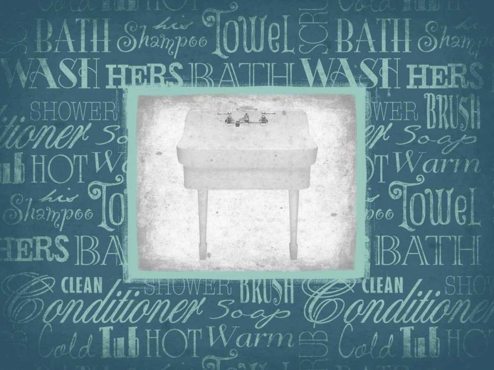 konfigurieren des Kunstdrucks in Wunschgröße Sink von Grey, Jace