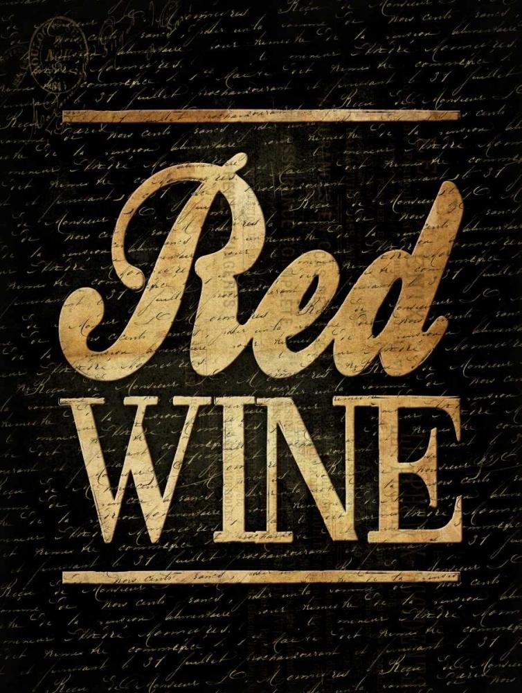 konfigurieren des Kunstdrucks in Wunschgröße Red Wine von Grey, Jace