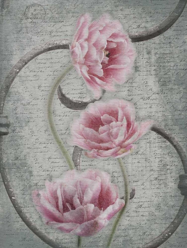 konfigurieren des Kunstdrucks in Wunschgröße Floral Fence 2 von Grey, Jace