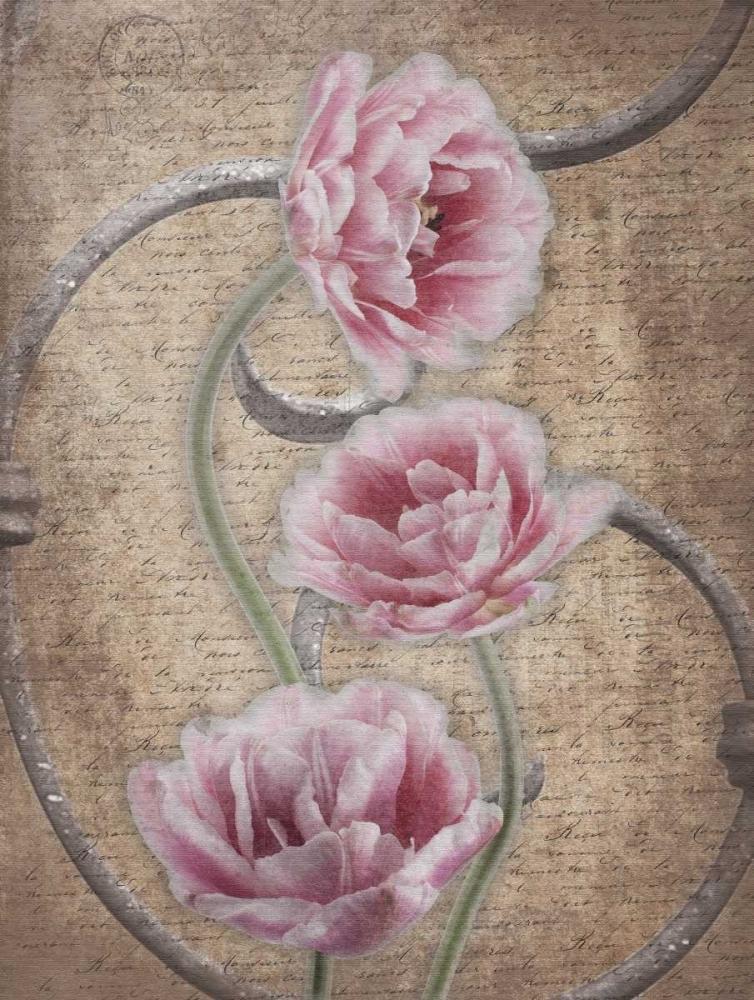konfigurieren des Kunstdrucks in Wunschgröße Floral Fence 3 von Grey, Jace
